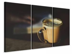 Ljuddämpande tavla - Milk coffee - SilentSwede