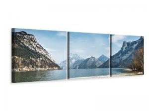 Ljuddämpande tavla - The Idyllic Mountain Lake - SilentSwede