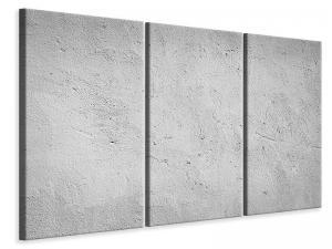 Ljudabsorberande 3 delad tavla - Concrete - SilentSwede