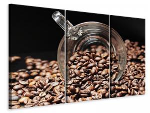 Ljuddämpande tavla - Coffee beans xl - SilentSwede