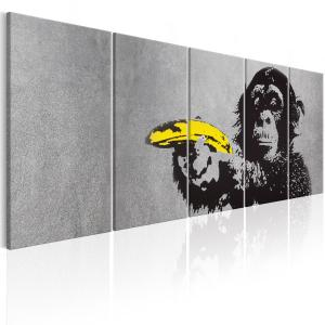 Ljuddämpande tavla - Monkey and Banana - SilentSwede