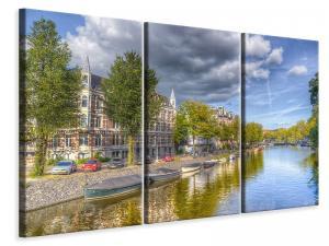 Ljuddämpande tavla - Idyllic amsterdam - SilentSwede