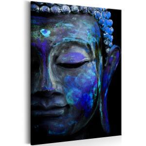 Ljuddämpande & ljudabsorberande tavla - Blue Buddha - SilentSwede