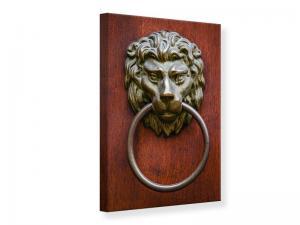Ljudabsorberande tavla - Antique doorknocker - SilentSwede