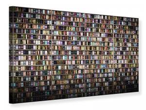 Ljudabsorberande tavla - Bookshelf - SilentSwede