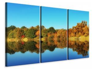 Ljuddämpande tavla - Autumn reflections - SilentSwede