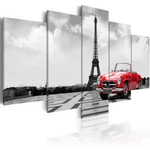 Ljuddämpande tavla - Parisian car - SilentSwede