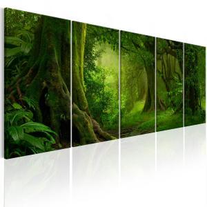 Ljuddämpande tavla - Tropical Jungle - SilentSwede