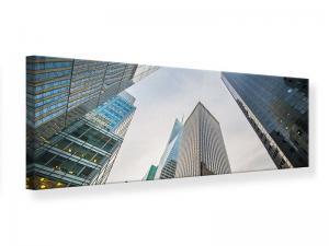Ljudabsorberande panorama tavla - Skyscrapers - SilentSwede