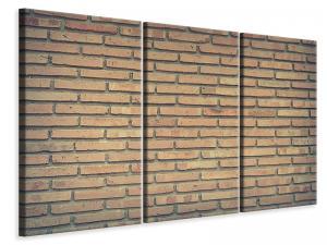Ljuddämpande tavla - Classic brick wall - SilentSwede