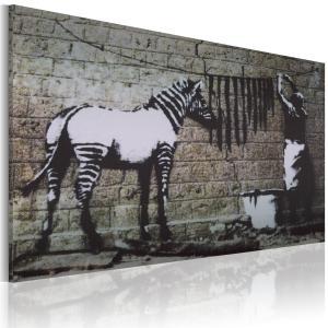Ljuddämpande tavla - Zebra tvätt - SilentSwede
