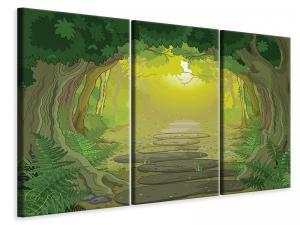 Ljuddämpande tavla - Fairy Tales Forest - SilentSwede