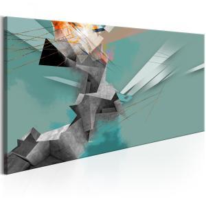 Ljuddämpande tavla - Geometrical Madness - SilentSwede