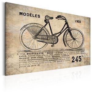 Ljuddämpande & ljudabsorberande tavla - N° 1245 - Bicyclette - SilentSwede