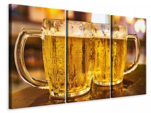 Ljuddämpande tavla - 2 beer glasses - SilentSwede