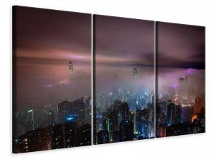 Ljuddämpande tavla - Smog in hong kong - SilentSwede