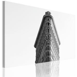 Ljuddämpande & ljudabsorberande tavla - Flatiron Building - SilentSwede