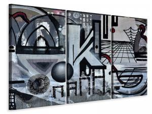 Ljuddämpande tavla - The graffiti art - SilentSwede