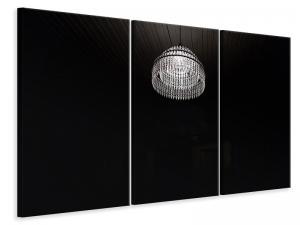 Ljuddämpande tavla - Retro chandelier - SilentSwede