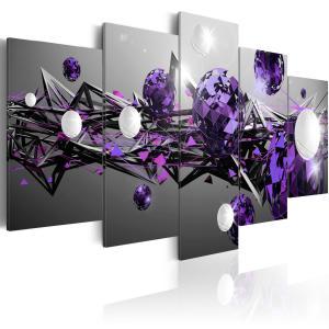 Ljuddämpande tavla - Purple Solar System - SilentSwede
