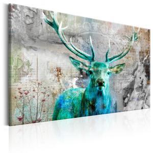 Ljuddämpande tavla - Green Deer - SilentSwede