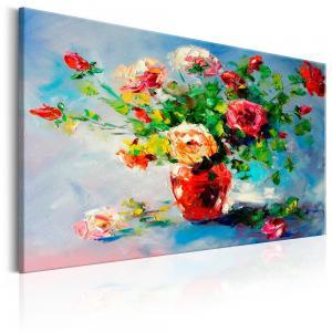 Ljuddämpande handmålad tavla - Autumn Bouquet - SilentSwede
