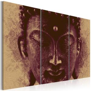 Ljuddämpande tavla - Buddha - face - SilentSwede