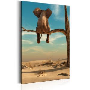 Ljuddämpande tavla - Rest in the Desert - SilentSwede