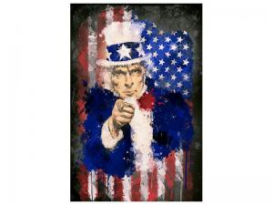 Ljudabsorberande tavla - Uncle Sam - SilentSwede