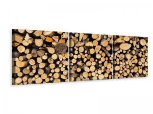 Ljuddämpande tavla - Firewood - SilentSwede