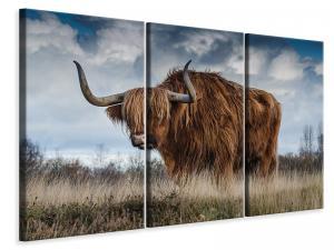 Ljuddämpande tavla - Attention bull - SilentSwede