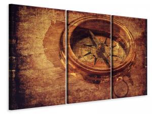 Ljuddämpande tavla - Antique compass xl - SilentSwede