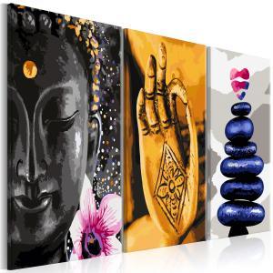 Ljuddämpande tavla - Oriental Triptych - SilentSwede