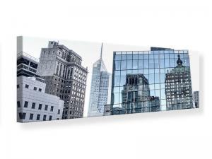 Ljudabsorberande panorama tavla - Skyscraper NYC - SilentSwede