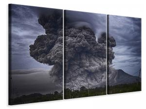 Ljuddämpande tavla - The volcano ash - SilentSwede