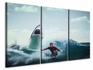 pLjuddämpande tavla - Attention shark - SilentSwede