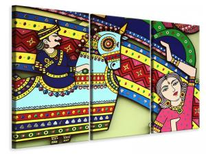 Ljuddämpande tavla - Indian art - SilentSwede