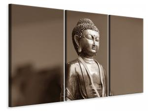 Ljuddämpande tavla - Buddha in meditation xl - SilentSwede