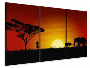 Ljuddämpande tavla - African Steppe Elephant - SilentSwede