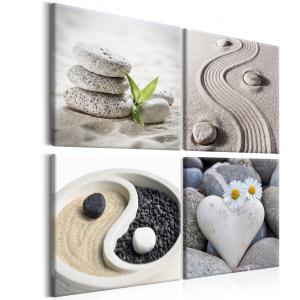 Ljuddämpande tavla - Sea: Yin and Yang - SilentSwede