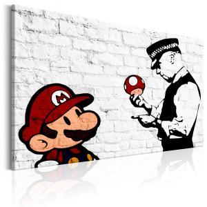 Ljuddämpande & ljudabsorberande tavla - Banksy on Brick - SilentSwede