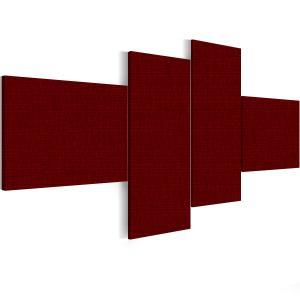 Ljudabsorbent vägg - SilentSwede® Wall - 4-parts Three - SilentSwede