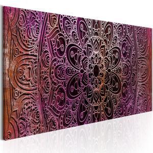 Ljuddämpande tavla - Mandala: Amethyst Energy - SilentSwede
