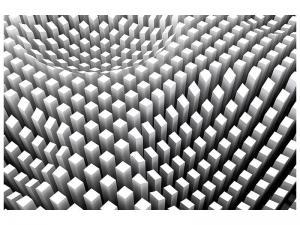 Ljudabsorberande tavla-3D Raster Design - SilentSwede