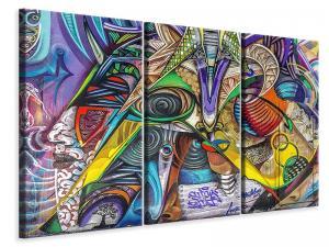 Ljuddämpande tavla - Fantasy graffiti - SilentSwede