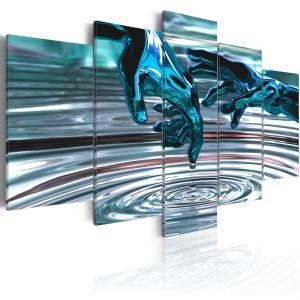 Ljuddämpande tavla - Vatten cirklar - SilentSwede