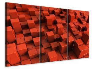 Ljuddämpande tavla - 3D Square - SilentSwede