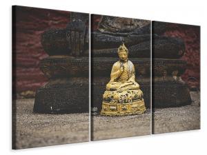 Ljuddämpande tavla - Antique buddha - SilentSwede
