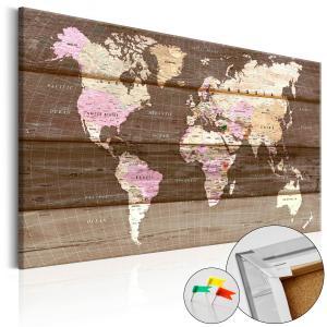 Ljuddämpande anslagstavla - Wooden World - SilentSwede