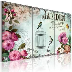 Ljuddämpande tavla - Jardin - SilentSwede